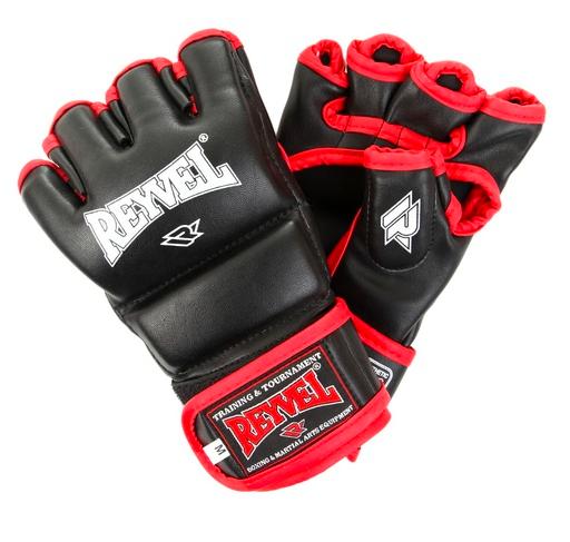 Перчатки ММА Reyvel красные/синие/черные