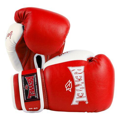Боксерские перчатки Beginning Reyvel красные/синие